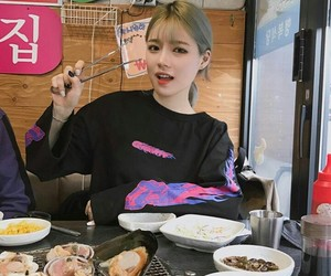 food, girl, and korean image