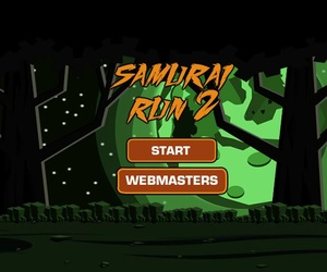 run 2, play run 2, and samurai run 2 image