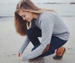 beach, casual, and blonde image