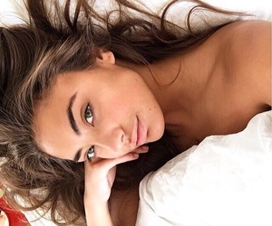 beauty, bed, and make up image