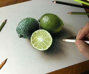 3d, draw, and pencil image