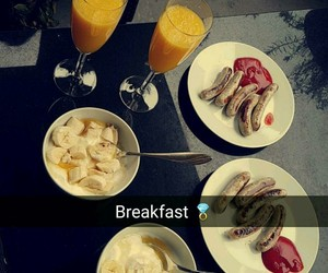 breakfast, room, and summer image
