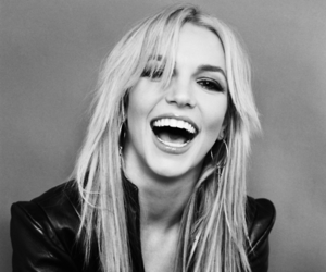 b&w, fancy, and britney spears image