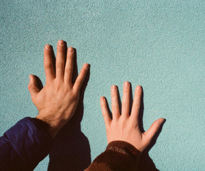 hands and random image