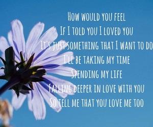 loving you, ed sheeran, and love image