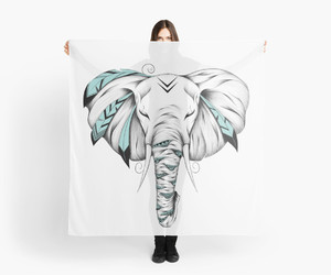 art, bandana, and scarf image