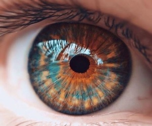 beautu, eye, and colours image