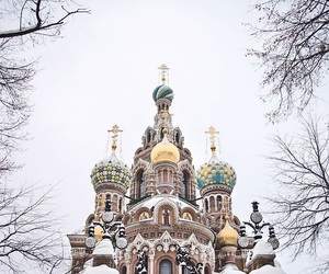 russia, winter, and snow image