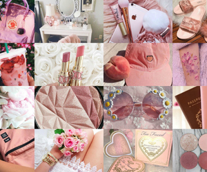 heels, makeup, and pink image
