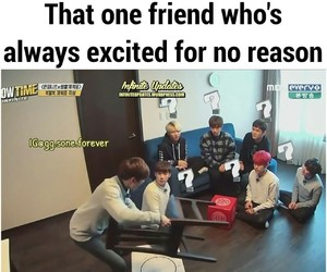 funny, infinite, and kpop image