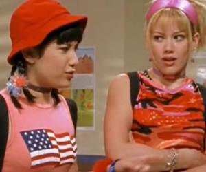 Hilary Duff, lizzie mcguire, and miranda image
