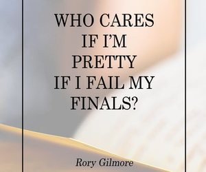 exam, finals, and gilmore girls image