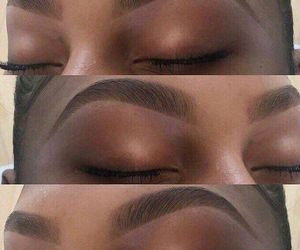 eyebrows, perfection, and brows image