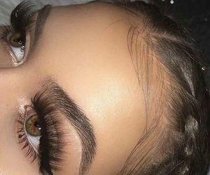 eyelashes, make up, and on fleek image