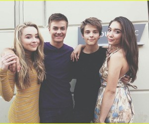 girl meets world, sabrina carpenter, and rowan blanchard image