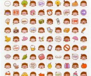 kawaii, cute, and emoji image