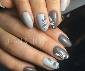 grey, fullcover, and nails image