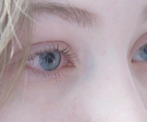 eyes, girl, and pale image