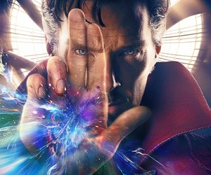 Marvel, doctor strange, and benedict cumberbatch image