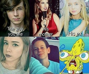true, twd, and chandler riggs image