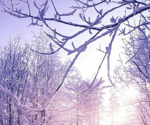 light, snow, and wallpaper image