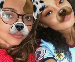 jade thirlwall, little mix, and leigh-anne image