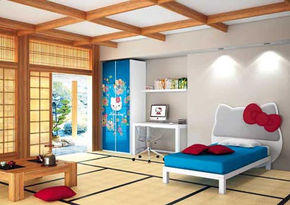 japanese children bedroom inspirational interior design rh oeeonocoli woosquirrel store