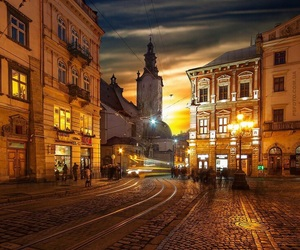 aesthetic, lviv, and yellow image