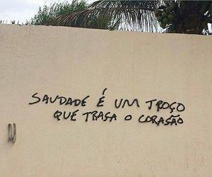 poesia, coraçao, and saudade image