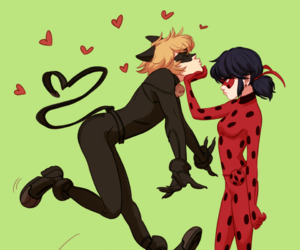 ladybug, Chat Noir, and ladynoir image