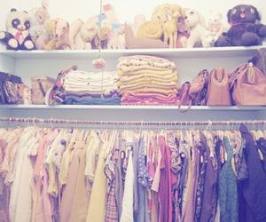 clothes, closet, and bag image