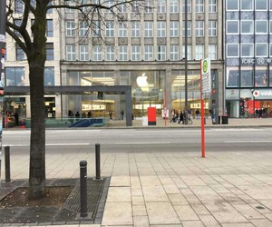 apple, street, and Apple Store image