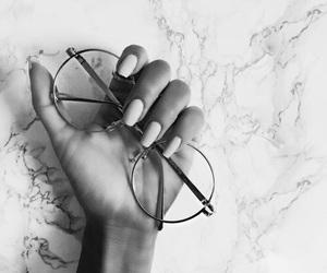 beauty, fashion, and glasses image