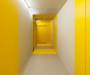 yellow, aesthetic, and door image