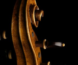brown, wood, and cello image