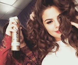 selena gomez, hair, and revival image