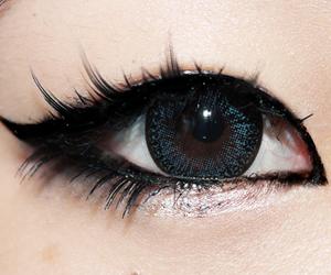 eye, eyes, and asian image