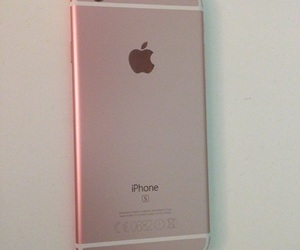 apple, iphone, and pink image