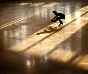 alone, cold, and figure skating image