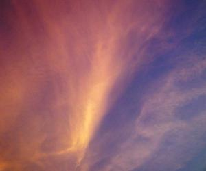 art, colors, and skies image
