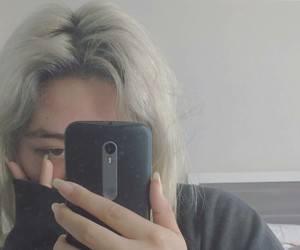 aesthetic, hair, and ulzzang image