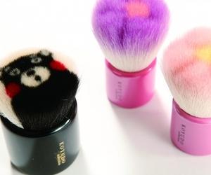 makeup brushes and kumamon image