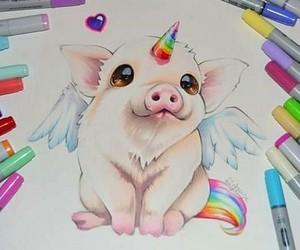 pig and unicorn image