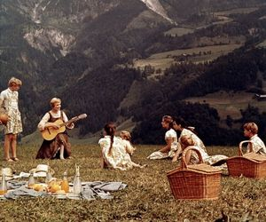 the sound of music, julie andrews, and mountains image