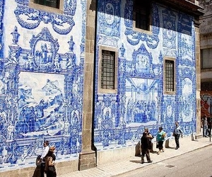 porto, portugal, and azulejo image