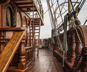 fantasy, sailing, and ship image