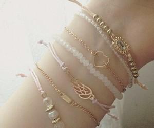 bracelet and heart image
