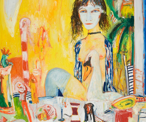 contemporary art, european painting, and john bellany image