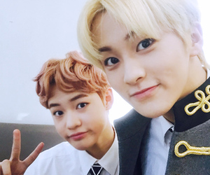 mark, nct, and chenle image