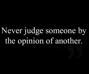 quote, judge, and opinion image
